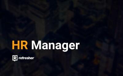 Pracovná pozícia: HR manažér pre Refresher