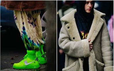 Prada, Gucci, Balenciaga, ale i Stussy nebo Nike. Co se aktuálně nosí v ulicích velkých měst?