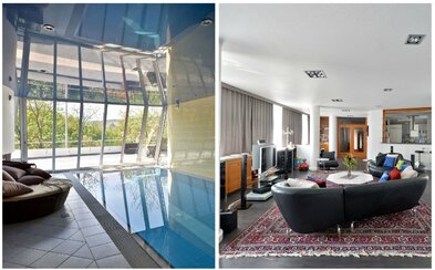 Praha ako na dlani zo sídla v hodnote presahujúcej 2,3 milióna eur, v ktorom nechýba vnútorný bazén či výťah