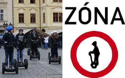Praha chce dostat segwaye z ulic. Chystá rozšíření oblasti, ve které jsou zakázané