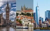 Praha je 20. nejnavštěvovanější město světa. Kam jezdí turisté nejčastěji?