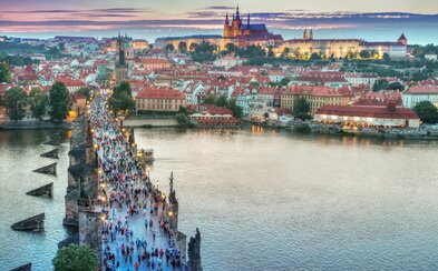 Praha se i pro rok 2018 dostala mezi patnáctku nejlepších evropských měst k turistické návštěvě
