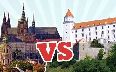 Praha vs. Bratislava: 10 dôvodov, prečo je život v českom hlavnom meste lepší ako na Slovensku