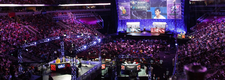 Právě probíhá největší e-sports událost svého druhu na světě. Hráči bojují o prize pool v celkové výši 24 milionů dolarů
