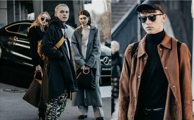 Pražský týden módy přilákal mnoho módních nadšenců. Prohlédněte si jejich vytříbené outfity (Fotoreport)