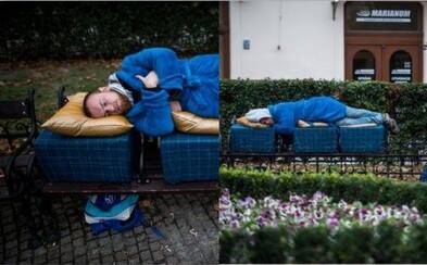 Pre bezdomovcov pripravili Bratislavčania postele na ulici. Úžasné gesto im spríjemní mrazivé obdobie