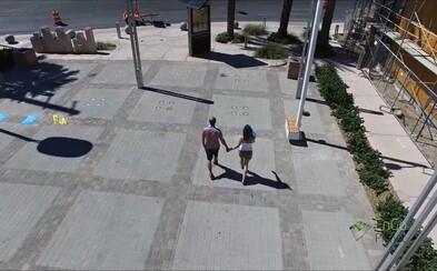 Prechádzať sa po chodníku a vyrábať tak elektrickú energiu pre celú ulicu? Mesto Las Vegas spúšťa revolúciu