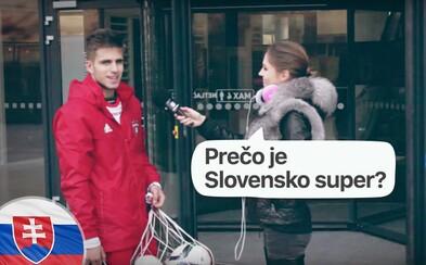 Prečo je Slovensko super? Na túto otázku sme hľadali odpovede v centre Trnavy (Video)