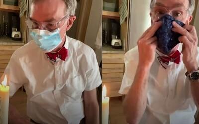 Prečo rúška zachraňujú ľudské životy? Vďaka tomuto videu to pochopí aj malé dieťa