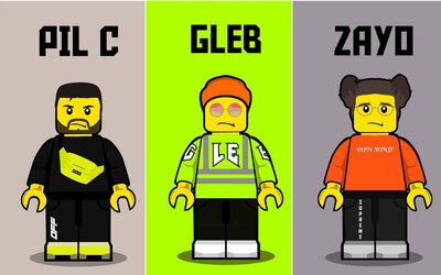 Prečo sa slovenskí raperi a youtuberi menia na LEGO postavy?
