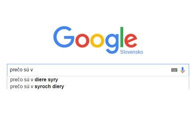 Prečo sú v syre diery? Google zverejnil, čo Slováci vyhľadávali najviac v uplynulom roku a nie je núdza o zábavu
