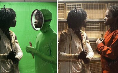 Pred a po CGI: Ako dokázali tvorcovia hororu Us vytvoriť dvojníkov hlavných postáv?