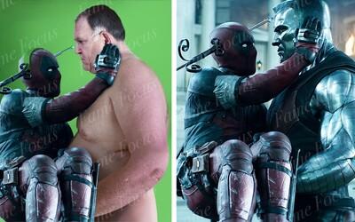 Pred a po CGI: Ako vznikli Deadpoolove detské nohy a ako vyzerali postavy vytvorené počítačmi?