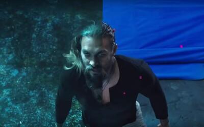 Pred a po CGI: Aquaman ukazuje rozdiely vo filme na natáčaní a vo finálnej verzii s počítačovými trikmi
