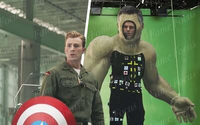 Pred a po CGI: Vytvorenie Hulka a boj s Thanosom v hodinovom náhľade na Avengers: Endgame