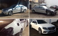 Předělat starý Mercedes třídy S k nerozeznání od nového? Na Ukrajině žádný problém!