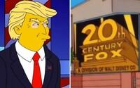 Předpověděli odkoupení Foxu, rozšíření eboly i Donalda Trumpa. Před čím vším nás varovali Simpsonovi a měli pravdu?