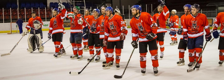 Predstavenie hráčov hokejového tímu Paneuropa Kings za sprievodu Ega už  tento štvrtok