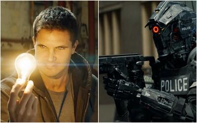 Představitel Arrowa získává superschopnosti a bojuje proti robotům a umělé inteligenci ve sci-fi Code 8