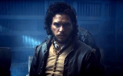 Predstaviteľ Jona Snowa sa v ukážke z mimoriadne lákavej minisérie Gunpowder pokúša odpáliť Snemovňu lordov a zavraždiť anglického kráľa