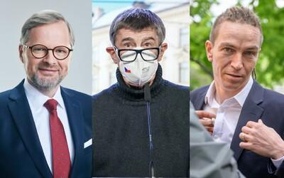 Představujeme favority na premiéra. Kdo jsou a co nabízí Babiš, Fiala a Bartoš