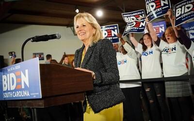 Představujeme ti novou První dámu USA– Jill Biden