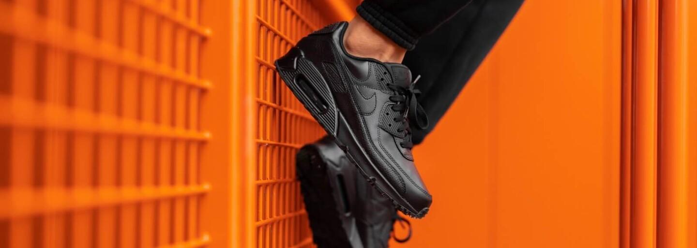 Preferuješ tenisky před botami i během sychravých dní? Celokožené Nike Air Max 90 jsou ideální volbou