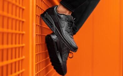 Preferuješ tenisky pred topánkami aj počas sychravých dní? Celokožené Nike Air Max 90 sú ideálnou voľbou