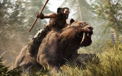 Prehistorický Far Cry Primal odhaľuje svoj nehostinný svet a hrateľnosť v debutovom gameplay traileri