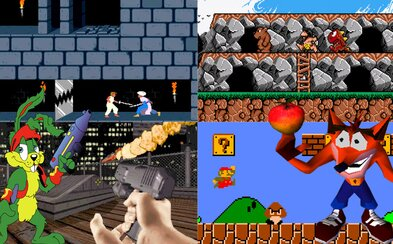 Prehistorik, Duke Nukem či Prince of Persia. 20 famóznych hier do roku 2000, na ktorých sme boli v detstve závislí