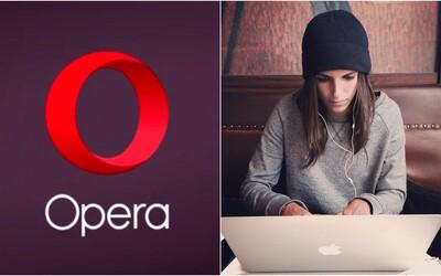 Prehliadač Opera ponúka 8 000 € za to, že budeš surfovať po internete