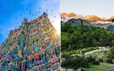 Preľudnená India je plná farieb, nádherných pláží, majestátnych hôr i krásnych chrámov