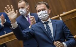 Premiér Matovič: Hranice otvoríme, až keď budú okolité krajiny na tom tak dobre, ako Slovensko