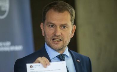 Premiér Matovič: Otvoriť školy je priliš veľké riziko. Nezaberá ani súčasný lockdown