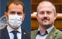 Premiér Matovič: Rúška možno nebudú musieť nosiť mentálne indisponovaní, Marian Kotleba patrí do tejto kategórie