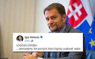Premiér Matovič sa v statuse pýta Slovákov, či chcú zrušiť štátnu karanténu. Zahlasovať môžeš smajlíkmi