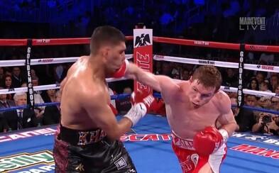 Přeskočil váhovou kategorii, ale zastavilo ho tvrdé KO. Ambiciózní boxer Khan ve střední váze neuspěl