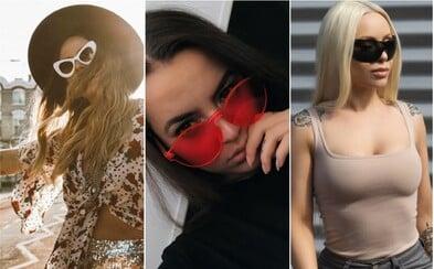 Preskúmaj aktuálne trendy v slnečných okuliaroch so známymi Slovenkami a Češkami z Instagramu