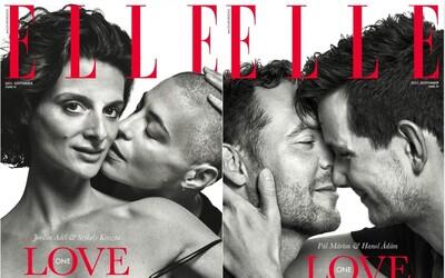 Prestížny magazín Elle v Maďarsku podporuje LGBTIQ komunitu: Dve osoby sa môžu priťahovať za akýchkoľvek okolností