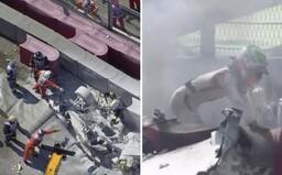 Preteky Formuly 2 opäť poznačila ťažká nehoda, pilot mohol uhorieť priamo v aute