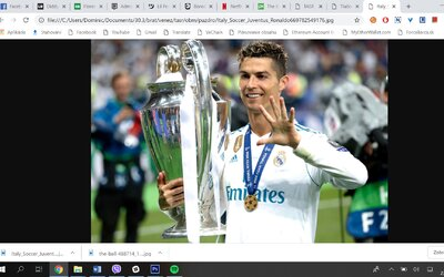 Prezident Realu Madrid prozradil, proč Cristiano Ronaldo odešel do Juventusu