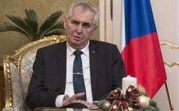 Prezident Zeman zahájí nový školní rok v Brně. Poletí tam armádním letadlem