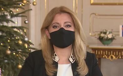 Prezidentka Čaputová: Bol to rok klamstiev, manipulácií, ale aj boja proti korupcii