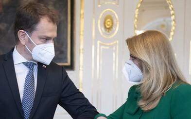 Prezidentka Čaputová po stretnutí s Matovičom: Premiér nemal pre mňa konkrétne riešenie