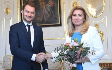 Prezidentka Čaputová poverila Igora Matoviča zostavením vlády: Ďakujem za najťažšiu domácu úlohu, akú som dostal