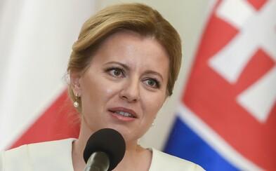 Prezidentka Čaputová udelila milosť mužovi, ktorý sa stará o svoju chorú ženu