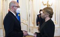 Prezidentka prijala demisiu Richarda Sulíka. Dočasne ho nahradí minister dopravy Andrej Doležal