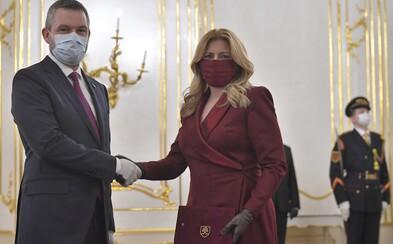 Prezidentka prijala demisiu vlády Petra Pellegriniho, poďakovala mu za pohotovú reakciu na koronavírus