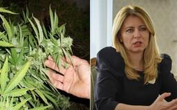 Prezidentka udelila milosť mužovi, ktorý za pár sadeníc marihuany dostal 10 rokov vo väzení. Omilostila aj dve ženy