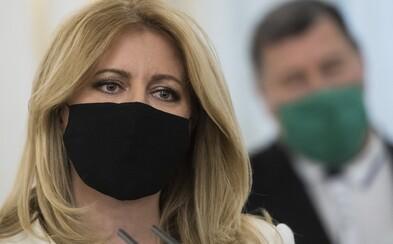 Prezidentka Zuzana Čaputová o testovaní: Som rada, že sa moje obavy nenaplnili a testovanie sa podarilo dobre zvládnuť